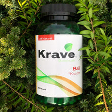 Load image into Gallery viewer, Krave Botanicals - Bali Kratom 300 Capsules