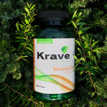 Load image into Gallery viewer, Krave Botanicals - Maeng Da Kratom 300 capsules