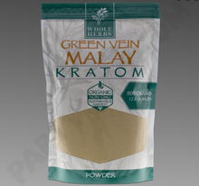 Load image into Gallery viewer, Whole Herbs - Kratom Powder Tea Green Vein Malay For Sale