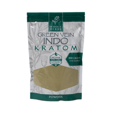 Load image into Gallery viewer, Whole Herbs - Kratom Powder Tea Green Vein Indo