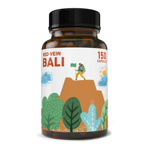 Pure Zen - Kratom Capsule Red Vein Bali  For Sale