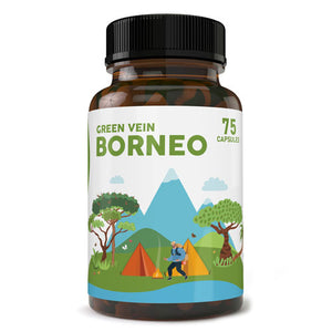 Pure Zen - Kratom Capsule Green Vein Borneo For Sale