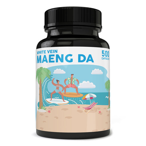 Pure Zen - Kratom Capsule White Vein Maeng Da For Sale