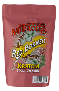Modern Day Miracles - Kratom Powder Tea Red Borneo For Sale