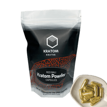 Load image into Gallery viewer, Kratom Krates - Capsule Red Bali