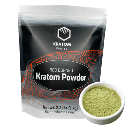 Kratom Krates - Kratom Powder Tea Red Borneo For Sale