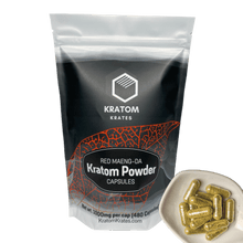 Load image into Gallery viewer, Kratom Krates - Capsule Red Maeng Da
