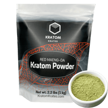Load image into Gallery viewer, Kratom Krates - Powder Red Maeng Da