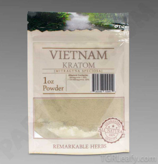 Remarkable Herbs - Kratom Powder Vietnam for sale