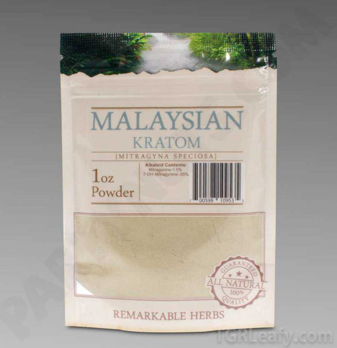 Remarkable Herbs - Kratom Powder Malaysian for sale