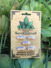 Load image into Gallery viewer, OPMS - Gold Kratom Extract Capsules 5ct.