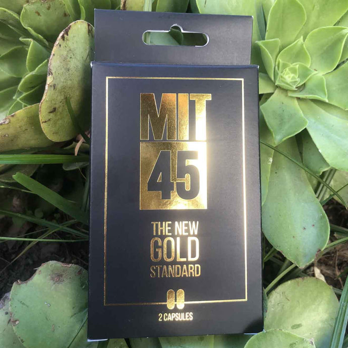 Mit 45 - Kratom Extract Capsules The New Gold Standard 2ct
