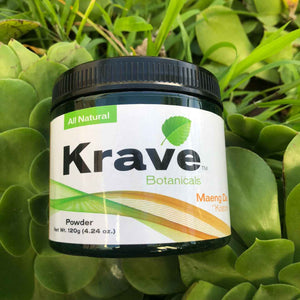 Krave Botanicals - Kratom Powder Tea Maeng Da 120gm For Sale