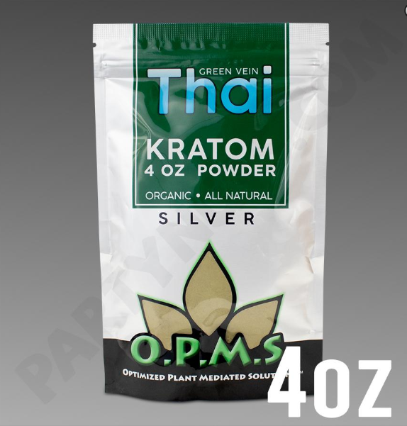 OPMS - Kratom Powder Tea Thai Silver 4oz.