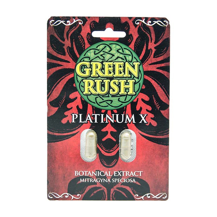 Green Rush - Kratom Capsule Extract Platinum For Sale