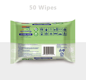 Germisept - Alcohol Wipes Multipurpose 50ct