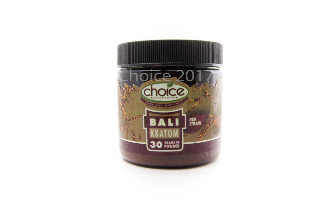 Choice Botanicals - Kratom Powder Tea Bali 30gm For Sale