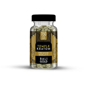 Temple Kratom - Capsule Bali Gold 150ct