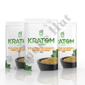 Njoy Kratom - Kratom Powder Tea Yellow Borneo 85gm For Sale