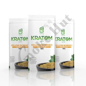 Njoy Kratom - Kratom Powder Tea Yellow Borneo 1Kg For Sale