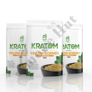 Njoy Kratom - Kratom Powder Tea Yellow Borneo 30gm For Sale