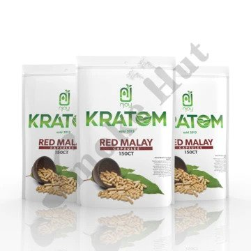 Njoy Kratom - Capsule Red Malay 150ct
