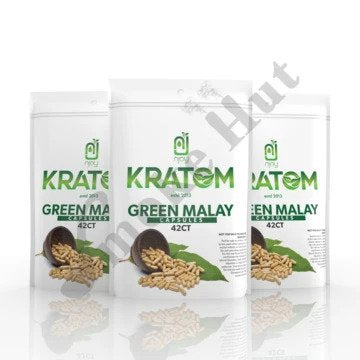 Njoy Kratom - Capsule Green Malay 42ct