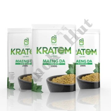 Njoy Kratom - Kratom Powder Tea Maeng Da 200gm For Sale