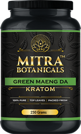 Mitra Botanicals - Kratom Powder Tea Green Maeng Da For Sale