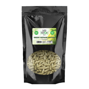 Earth Kratom - Capsule Green Vietnam 1kg