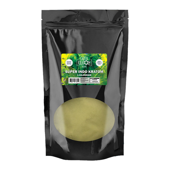 Earth Kratom - Powder Super Indo 1kg