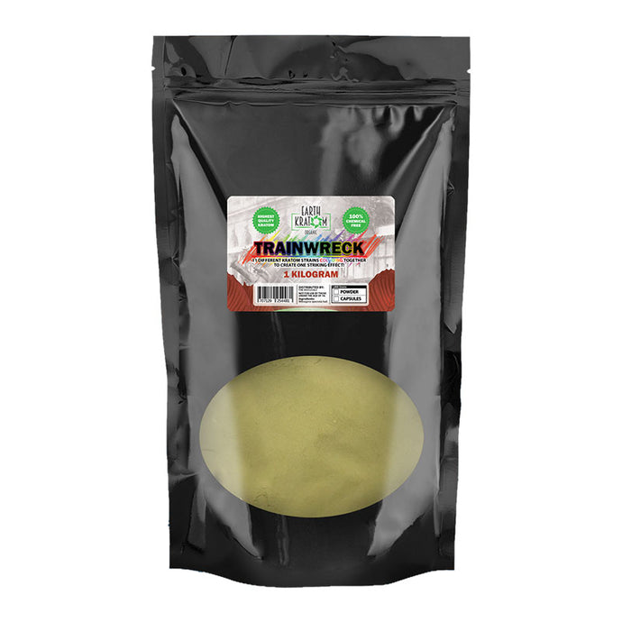 Earth - Kratom Powder Tea Trainwreck 1kg For Sale