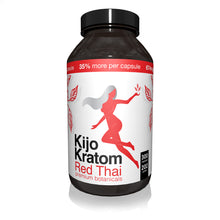 Load image into Gallery viewer, Kijo Kratom - Kratom Capsule Red Thai 300ct For Sale