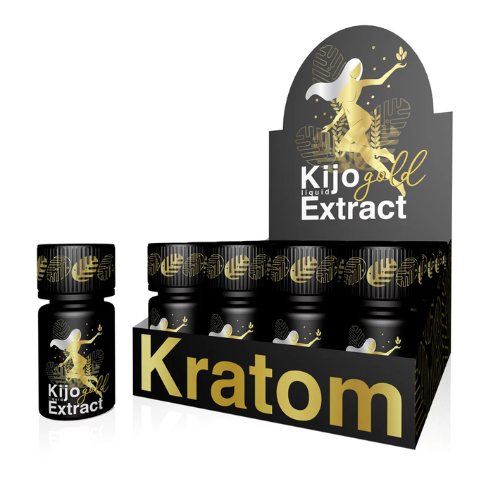 Kijo Kratom - Liquid Gold Extract 0.8 oz. For Sale