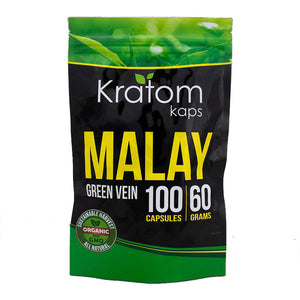 Kratom Kaps - Kratom Capsule Malay Green Vein For Sale