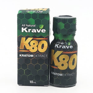 Krave Kratom - Liquid Extract K80 Shot 10ml For Sale