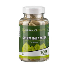 Load image into Gallery viewer, Urban Ice Organics - Kratom Capsule Green Malaysian 100ct