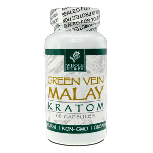 Whole Herbs Kratom - Green Vein Malay for sale