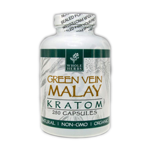 Load image into Gallery viewer, Whole Herbs Kratom - Green Vein Malay for sale