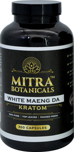 Mitra Botanicals - Kratom Capsule White Maeng Da For Sale
