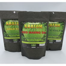 Load image into Gallery viewer, Natures Home Remedy - Kratom Powder 4oz (112 Grams) For Sale