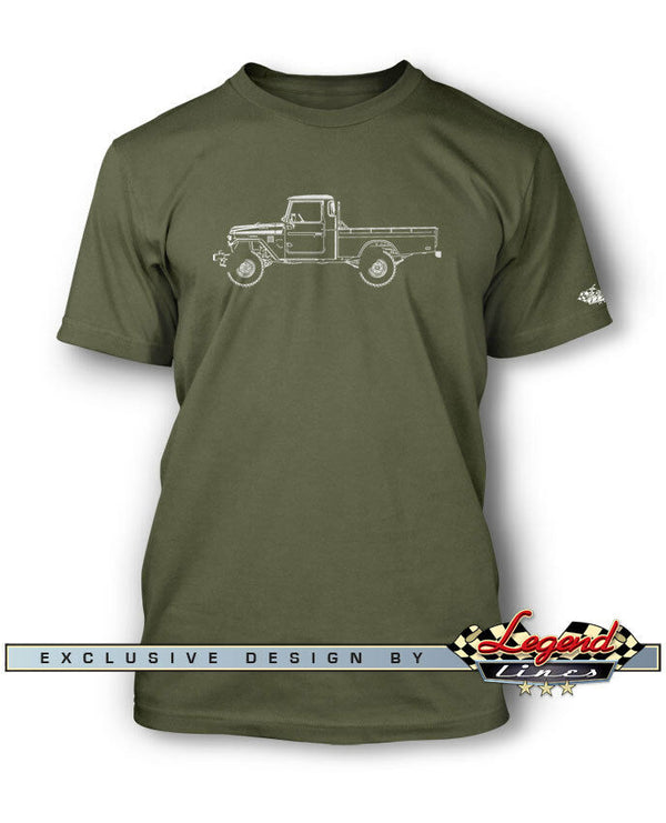 Tee shirt manches courtes land cruiser
