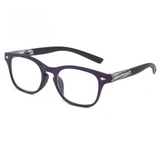Plastic Imitation-Wood Square Style  Women Men Reading Glasses
