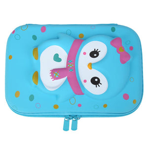 Cute 3D Silcon Pencil Hold Case for Boys and Girls Gift Anti-Shock Waterproof Large Capacity Multi-Compartment