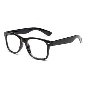 PC Big Square Style Women Men Eyewear Frames,black