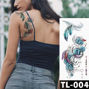 Temporary Tattoo Waterproof Stickers for Men Women onBody Art