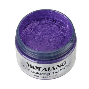 7-Colors Anti-static Temporary Hair Color, purple