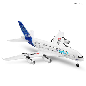 Airbus A380 Model Remote Control Plane 2.4G 3CH EPP RC Airplane Fixed-Wing RTF RC Wingspan Toy