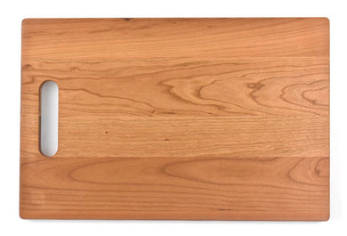 Large Cherry Cutting board with handle - 10