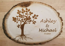 Load image into Gallery viewer, Custom Basswood Circular Plaque Sign